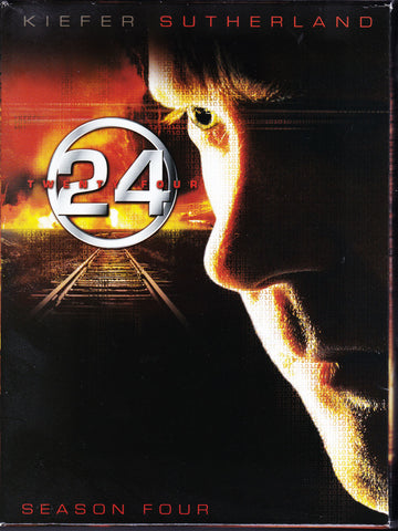 DVD. 24 TV Series Complete Season Four DVD Set