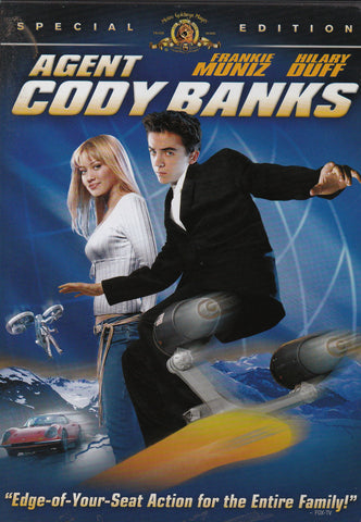 DVD. Agent Cody Banks Special Edition starring Frankie Muniz and Hilary Duff