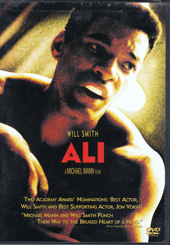 DVD. Ali starring Will Smith