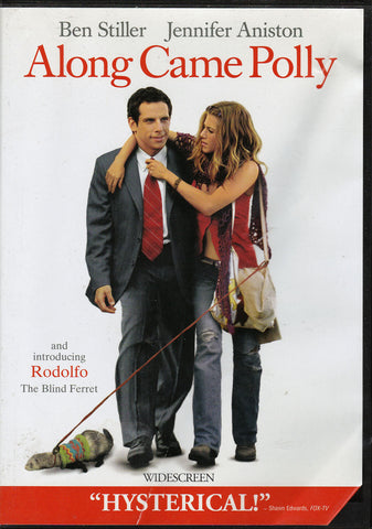 DVD. Along Came Polly starring Ben Stiller and Jennifer Aniston