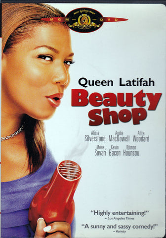 DVD. Beauty Shop starring Queen Latifah