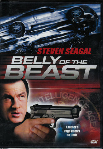 DVD. Belly of the Beast starring Seven Seagal