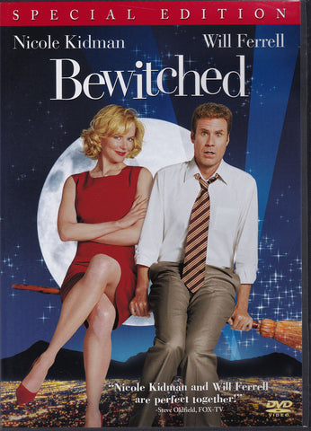 DVD. Bewitched starring Nicole Kidman and Will Ferrell