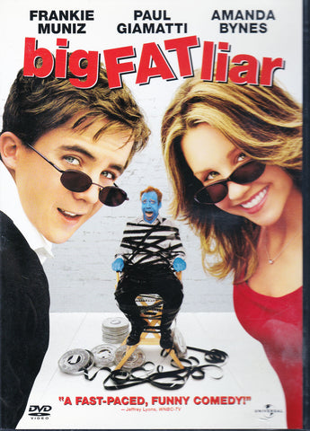 DVD. Big Fat Liar starring Frankie Muniz, Paul Giamatti and Amanda Bynes