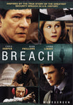 DVD. Breach starring Chris Cooper Ryan Phillippe and Laura Linney