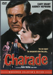 DVD. Charade starring Audrey Hepburn and Cary Grant
