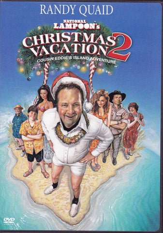 DVD. National Lampoon's Christmas Vacation 2 Starring Randy Quaid