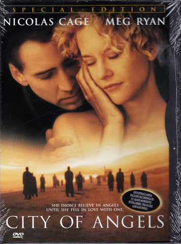 DVD. City Of Angels starring Nicolas Cage and Meg Ryan