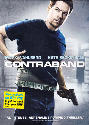 DVD. Contraband Starring Mark Wahlberg and Kate Beckinsale