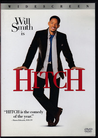 DVD. Hitch starring Will Smith, Eva Mendes and Kevin James