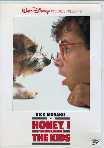 DVD. Honey, I Shrunk the Kids starring Rick Moranis