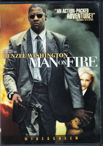 DVD. Man On Fire starring Denzel Washington