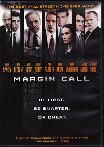 DVD. Margin Call starring Kevin Spacey, Jeremy Irons, and more...