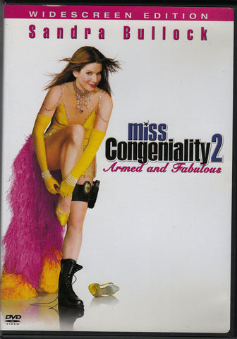 DVD. Miss Congeniality 2-Armed and Fabulous starring Sandra Bullock Regina King and William Shatner