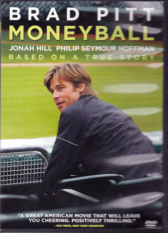 DVD. Moneyball starring Brad Pitt