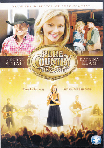 DVD. Pure Country 2 The Gift starring George Strait and Katrina Elam