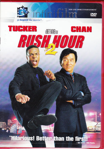 DVD. Rush Hour 2 starring Jackie Chan and Chris Tucker