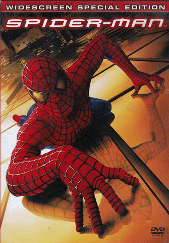 DVD. Spider-Man Two-Disc Special Edition staring Tobey Maguire