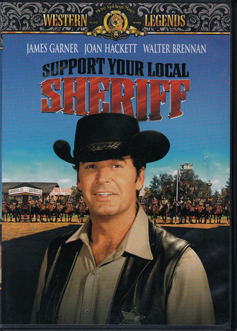 DVD. Support Your Local Sheriff starring James Garner