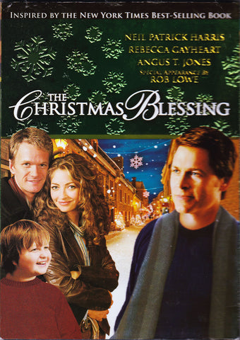 DVD. The Christmas Blessing starring Neil Patrick Harris