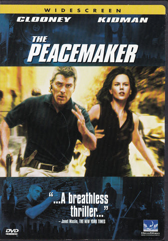 DVD. The Peacemaker starring George Clooney and Nicole Kidman