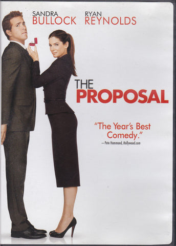 DVD. The Proposal starring Sandra Bullock and Ryan Reynolds
