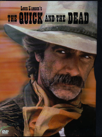 VHS Tape. Louis L'Amour's The Quick and the Dead starring Sam Elliott, Kate Capshaw and Tom Conti