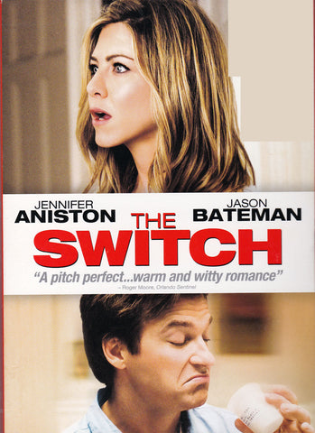 DVD. The Switch starring Jennifer Aniston and Jason Bateman