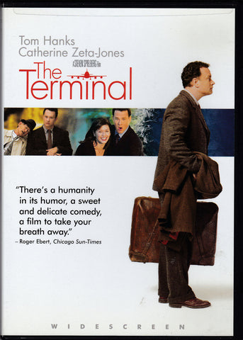 DVD. The Terminal starring Tom Hanks and Catherine Zeta-Jones