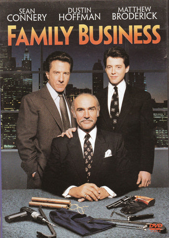 DVD. Family Business starring Sean Connery, Dustin Hoffman and Matthew Broderick