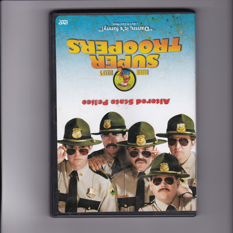 DVD. Super Troopers