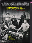 DVD. Swordfish, starring Halle Berry, Don Cheadle, Hugh Jackman and John Travolta
