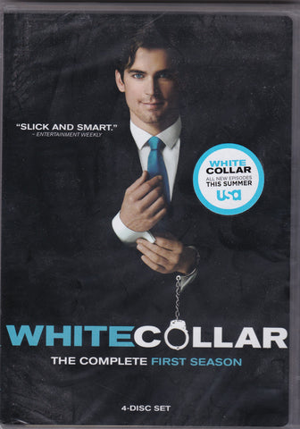 DVD Set. The complete First Season of White Collar.