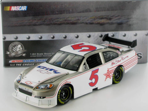 Dale Earnhardt Jr #5 All Star Test Car 2008 Impala SS Brushed Metal Diecast