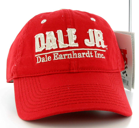 Dale Jr Red Tackle Cap