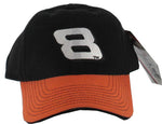 Dale Earnhardt Jr #8 Black and Orange Chance2 Racing Pit Cap