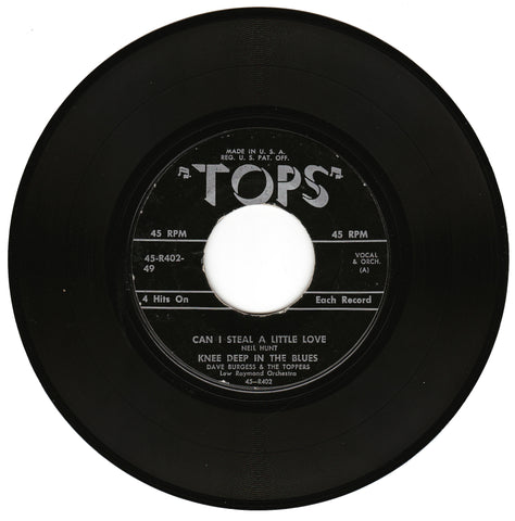 Dave Burgess & The Toppers. Can I Steal A Little Love / Knee Deep In The Blues / Marianne / Wringle Wrangle