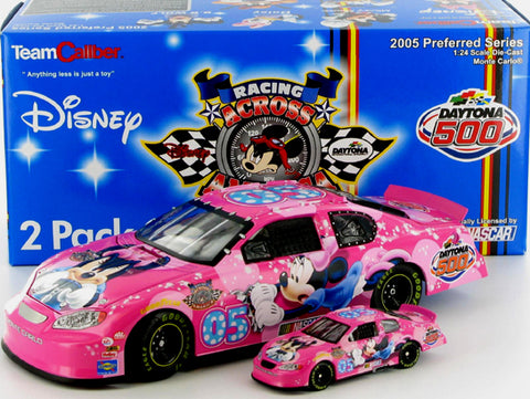 Disney Racing 2005 Daytona 500 Racing Across America Diecast Duo Nascar Diecast