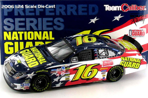 Greg Biffle #16 National Guard 2006 Ford Fusion Nascar Diecast