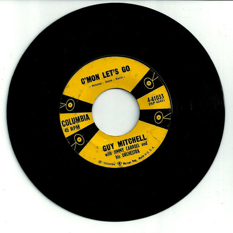 Guy Mitchell. C'mon Let's Go /The Unbeliever