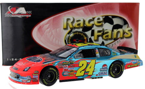 Jeff Gordon. #24 DuPont '57 Chevy. 2007 Monte Carlo SS Color Chrome. Autographed
