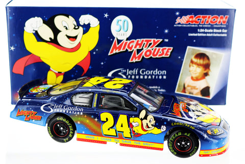 Jeff Gordon. #24 Jeff Gordon Foundation / Mighty Mouse 2005 Monte Carlo