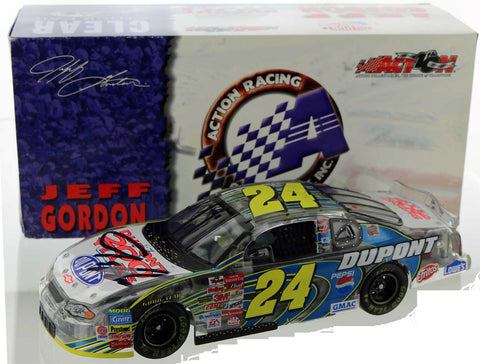 Jeff Gordon. #24 DuPont/200th Anniversary Celebration. 2002 Monte Carlo. Clear. Autographed