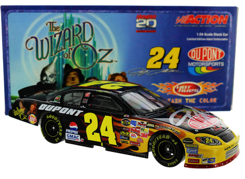 Jeff Gordon. #24 Dupont / Wizard Of Oz 2004 Monte Carlo. Autographed