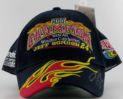 Jeff Gordon #24 2001 Champion Cap Nascar Diecast