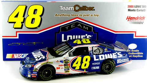 Jimmie Johnson #48 Lowe's 2005 Monte Carlo Nascar Diecast