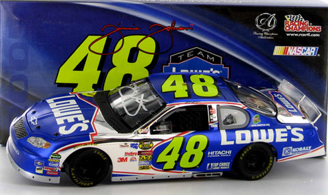 Jimmie Johnson #48 Team Lowes Racing 2005 Monte Carlo Nascar Diecast