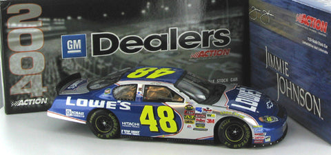 Jimmie Johnson #48 Lowe's 2004 Monte Carlo Nascar Diecast