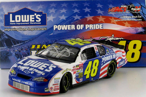 Jimmie Johnson #48 Lowe's / Power of Pride 2002 Monte Carlo Nascar Diecast