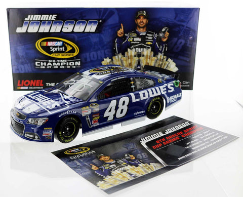 Jimmie Johnson. #48 Lowe's 2013 Champion. 2013 SS